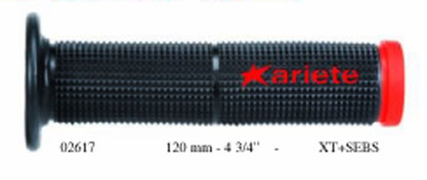Ariete 02617 Trials Motorcycle Handlebar Grips Black/Red
