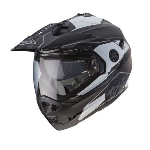 Caberg Tourmax Marathon Matt Black/Anthracite/Casque blanc