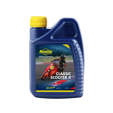 Putoline Classic Scooter X Synthetic Two Stroke - 1 Litre