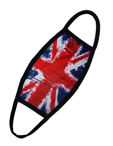 Premium Union Jack Graffiti Face Mask Breathable Washable