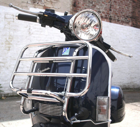 F.A. Italia Vespa PX T5 Chrome Front Carrier