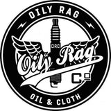 Oily Rag Clothing Retro Motorcycle T-Shirt Black Suck Squeeze Bang Blow