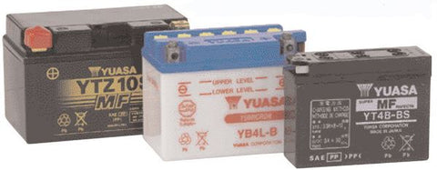 Yuasa Motorcycle Batteries 12N7-3B (CP) With Acid