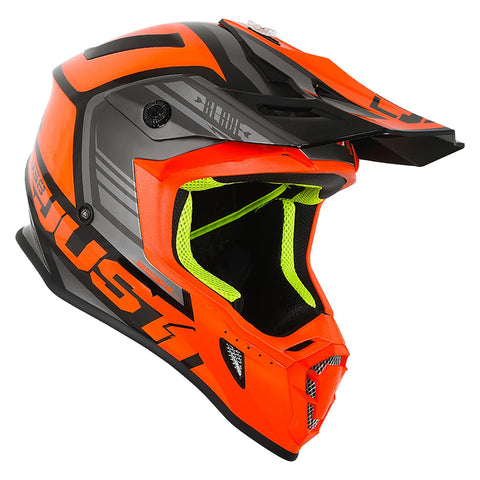 Just 1 J38 Motocross Helmet Blade Orange KTM MX Gold ACU Off Road