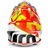 Airoh Aviator 2.2 Motorcycle Helmet Double Orange