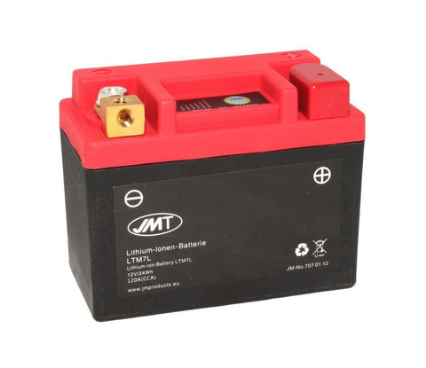 JMT LTM7L Lithium Ion Battery Lightweight 2 Year Warranty