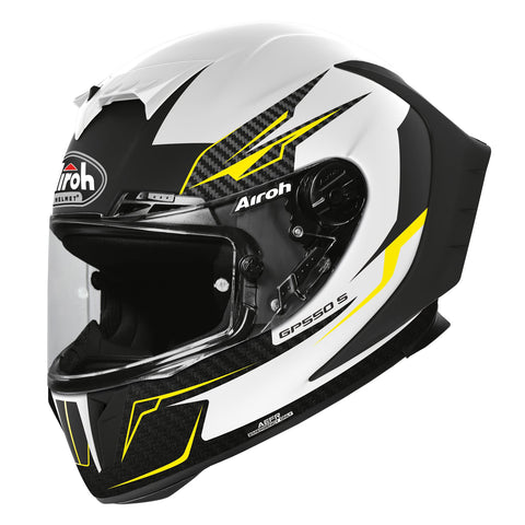 Airoh GP550S Full Face Helmet Venom White Matt