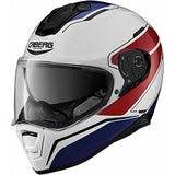 Caberg Drift Tour White/Red/Blue Helmet