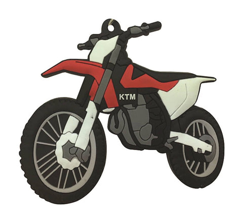 Bike It KTM SXF 16> Rubber Keyfob - #122
