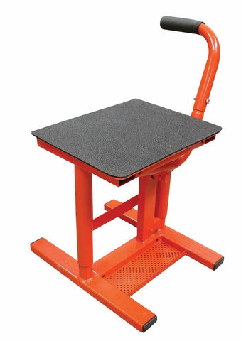BIKETEK MX LIFT STAND 310MM  440MM LIFTING RANGE 180KG MAX