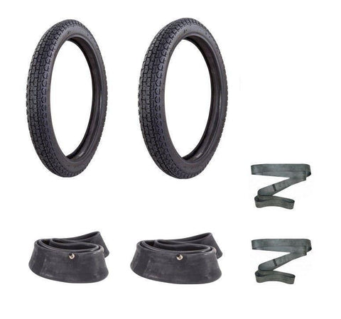 Honda C90 Cub Tyres Inner Tube Front Rear Kit