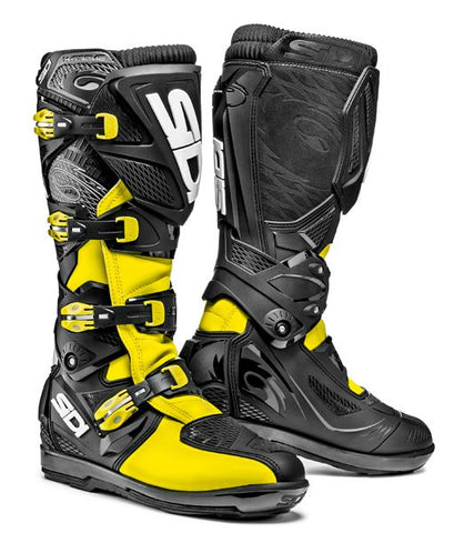 Sidi X-3 Xtreme SRS Yellow Fluo/Black Boots CE