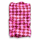 Holy Freedom Cafe Racer Motorcycle Neck Tube Bandana Pussycat Stretch (Pink/Red)