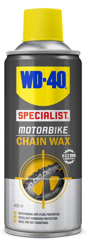 WD40 Motorcycle Chain Wax - 400ml