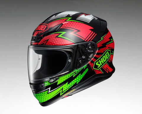 Shoei NXR Variable TC4 Motorcycle Helmet Green