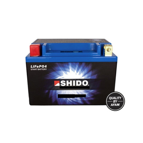 Shido LTKTM04L Motorcycle Lithium Iron Battery LiFePO4 12V - 3 Year Warranty