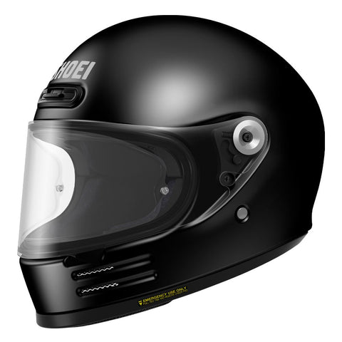 Shoei Glamster Motorcycle Helmet Black