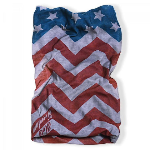 Holy Freedom Cafe Racer Motorcycle Neck Tube Bandana America