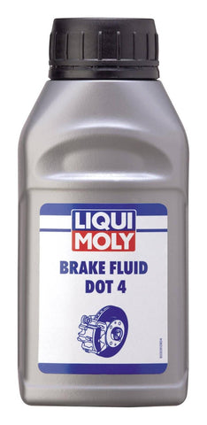 Liqui Moly Dot 4 Motorcycle Brake Fluid - 250ml