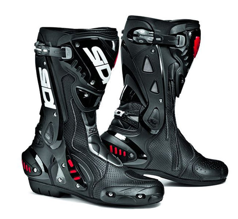 Sidi ST Air Mens Motorrad Boots Black CE Mens Womens