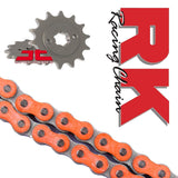 KTM SX65 Road Off-Road Chain and Sprocket Kit Orange RK Racing 2014-17
