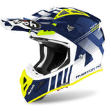 Airoh Aviator Ace Nemesi Motocross & ATV Helmet Blue/Gloss