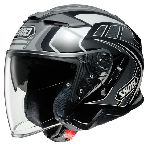 Casque de moto Shoei J-Cruise 2 Aglero TC5 gris