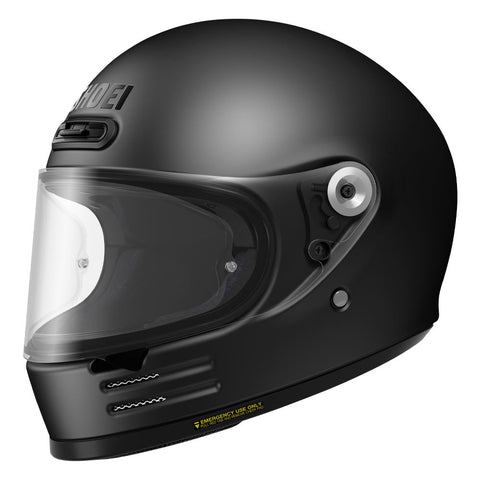Shoei Glamster Motorcycle Helmet Matt Black