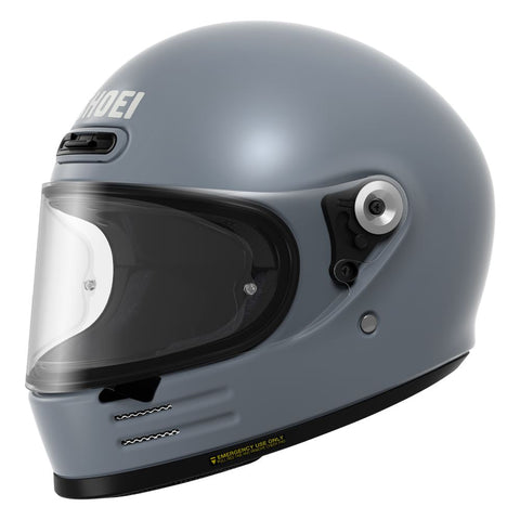 Shoei Glamster Basalt Motorcycle Helmet Grey