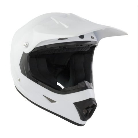GSB Moto X Kids Full Face Off Road Motocross Helmet White ACU Approved