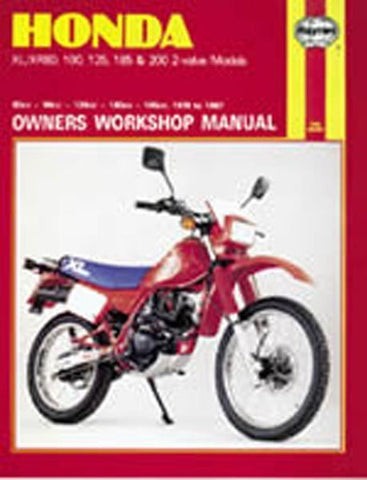 Haynes Manual 566 HON XL/XR 80-200