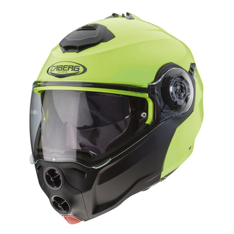 Caberg Droid Hi Viz Motorcycle Helmet Yellow