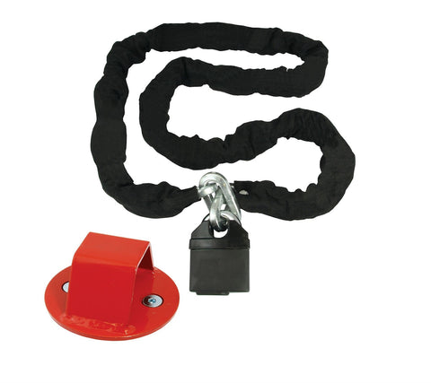 Mammoth Motorcycle Security Bundle Ground Anchor Chain