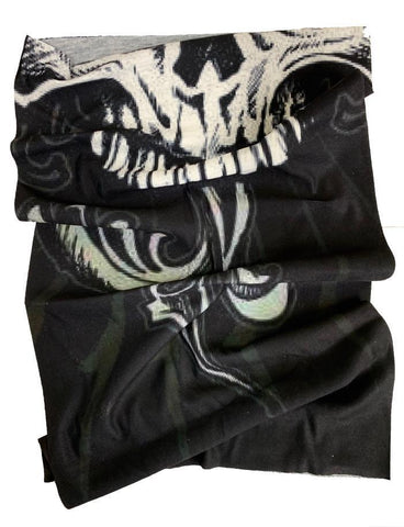 Biker Skull Anti Bacterial Neck Tube / Bandana