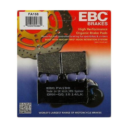 EBC FA158 Front Brake Pads - Bandit GSF650 GSF1250