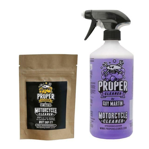 Guy Martin Proper Cleaner Motorcycle Bike Quad Starter Pack1.5Ltr