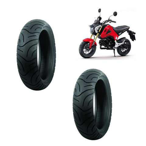 Maxxis High-Performance Tubeless Front and Rear Scooter Tyres For Honda MSX125