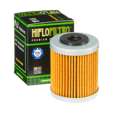 Hiflo HF651 Oil Filter: KTM Duke 690 2012-19
