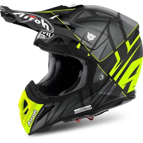 Airoh Aviator 2.2 Off Road Motorcycle Helmet- Styling Yellow