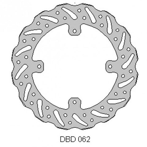 Delta Front Brake Disc for Honda CR and XR 125 to 650