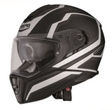 Caberg Drift Flux Matt Black White Helmet