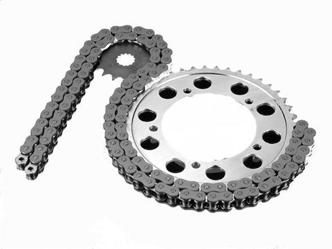 Suzuki VL125 Intruder LC RK Chain and JT Sprocket Kit 00-07