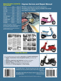 Haynes Repair Manual Vespa GTS, GTV, LX - S 125 à 300 (05 - 14)