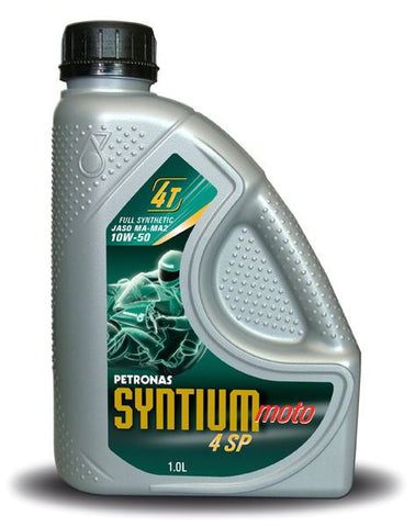 Petronas Syntium Moto 4SP 4 Stroke Fully Synthetic Oil 10W-50 1 L