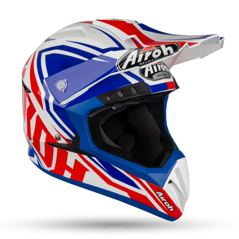 Airoh Switch Impact Blue Gloss Helmet