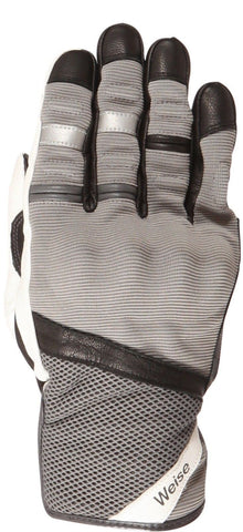 Weise Deacon Motorcycle Glove All Weather Waterproof Windproof Armoured Grey