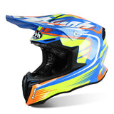 Airoh Twist Mix Helmet Gloss Black/Green/Blue/Red ACU Approved