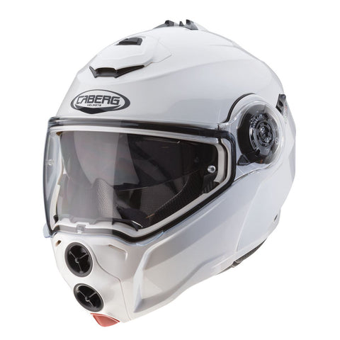Caberg Droid Metal Motorcycle Helmet White