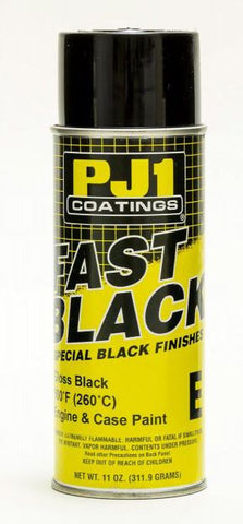 PJ1 Paints 16-ENG Fast Black Engine Gloss-400ML Box of 6