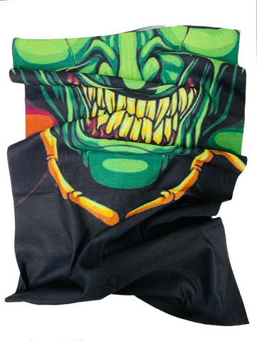 Green Goblin Anti Bacterial Neck Tube / Bandana